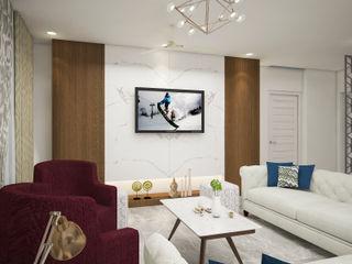 Living Dining INDREM DESIGNS Modern living room