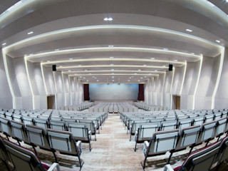 INSADA DESIGN TEAM Salas multimedia modernas