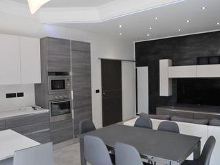 ArchitetturaTerapia® 置入式廚房 塑木複合材料 Grey