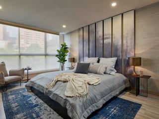 Apartamento Gran Reserva CAJA BLANCA Habitaciones de estilo ecléctico