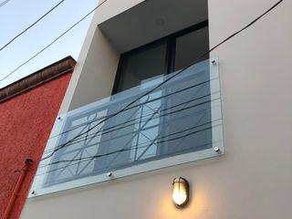 Arquimia Arquitectos Rumah prefabrikasi Beige