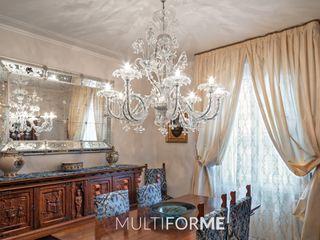 Villa in Franciacorta MULTIFORME® lighting Salle à manger classique