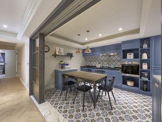 台中 - 法式鄉村 禾廊室內設計 餐廳