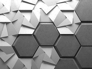 ZICARO - producent paneli 3D Modern living room Ceramic White