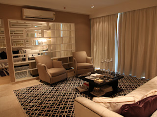 Tanish Dzignz Living room Beige
