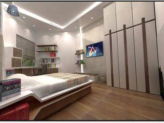 Tanish Dzignz Modern style bedroom