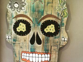 Artigos de Decoração Artesanais em madeira reciclada II Officina Boarotto ArteOutras obras de arte