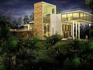Tanish Dzignz Rustic style house