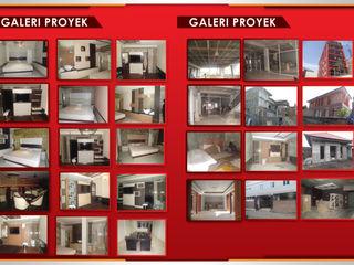 KONTRAKTOR INTERIOR - SIPIL - ME TERPERCAYA PT.KREASI ARTISTIKA GLOBALINDO Ruang Studi/Kantor Minimalis Kayu Lapis Wood effect