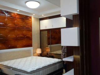 INTERIOR KONDOMINIUM PT.KREASI ARTISTIKA GLOBALINDO BedroomAccessories & decoration Kayu Lapis White