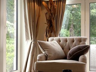 Marcotte Style Living room Metal Beige