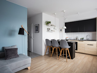 Perfect Space Built-in kitchens Wood effect