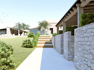 Casale NC DFG Architetti Associati Giardino rurale