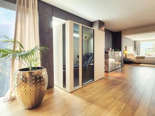Wärme zuhause genießen mit Physiotherm Infrarotkabinen SPA Deluxe GmbH - Whirlpools in Senden Minimalistische Wohnzimmer