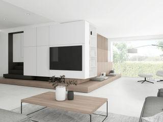 Villa DC DFG Architetti Associati Soggiorno moderno