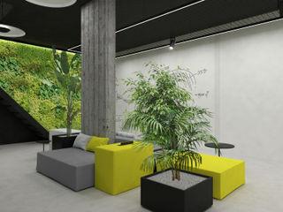 Coworking space DFG Architetti Associati Spazi commerciali moderni