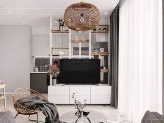 ICON INTERIOR Salas de estilo escandinavo