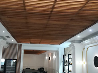 Hotel_comedor_instalación acústica_Los Habaneros. Deacústica_Silenciamos el ruido.Cartagena Deacustica Comedores de estilo moderno