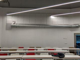 Formación_Instalación acústica_Centro Universitario ISEN. Deacústica_Silenciamos al ruido.Cartagena. Deacustica Estudios y despachos de estilo industrial