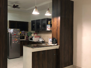 Residence Renovation Urban Shaastra Built-in kitchens