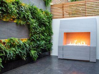Living Wall Courtyard Garden MyLandscapes Garden Design 미니멀리스트 정원 석회암