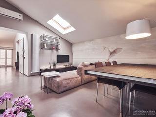Rachele Biancalani Studio Salones de estilo minimalista