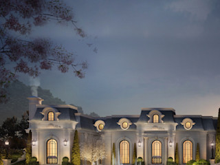 Luxurious Home Design Collection : Majestic Mansion in French Architecture Style IONS DESIGN Classic style houses Stone Multicolored