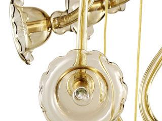 MULTIFORME® lighting SalonEclairage Verre Ambre/Or
