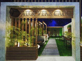 Micasa Design Zen garden Stone Wood effect