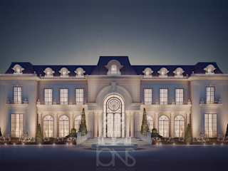 Luxurious Home Design Collection : Royal Palace in Neoclassic Architecture Style IONS DESIGN Classic style houses Stone White