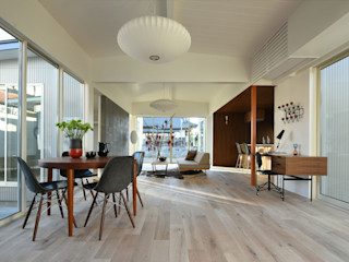 NASU CLUB Modern living room Wood White
