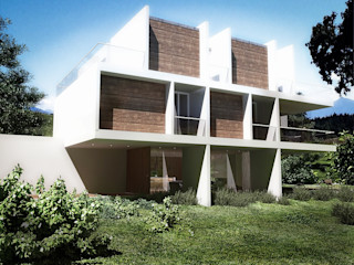 Bayern RRA Arquitectura Casas unifamiliares Madera Blanco