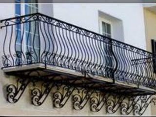 herrería gonzalez Balcony Iron/Steel Black