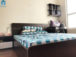 Thi công hoàn thiện nội thất căn hộ Sunrise Cityview 65m2 Công ty Cổ Phần Nội Thất Mạnh Hệ Phòng ngủ nhỏ Gỗ White