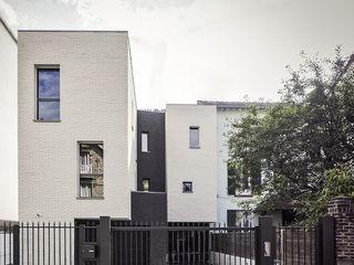 Fabrice Commercon 일세대용 주택 벽돌 화이트