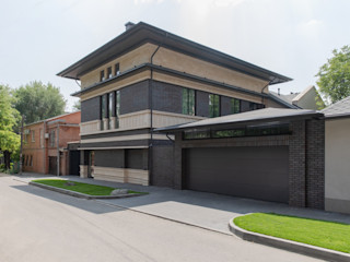 ArDesi Eclectic style houses Concrete Beige