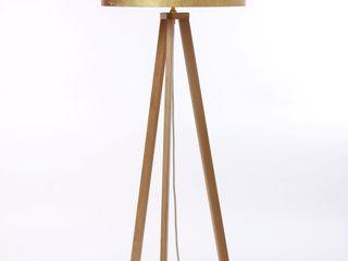 Leuchtenmanufaktur Brodauf GmbH ВітальняОсвітлення Текстильна Янтарний / Золотий