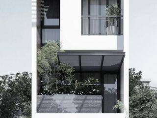 Mẫu thiết kế nhà phố 3 tầng đẹp hiện đại tại hoocmon tphcm NEOHouse