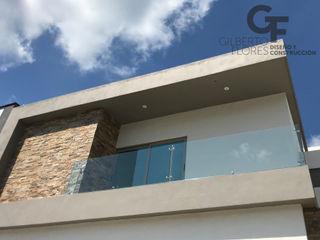 GF ARQUITECTOS Eengezinswoning Gewapend beton Bruin