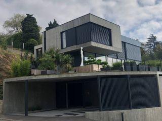 Maison d'architecte à Vienne CUBIK architecture Maisons modernes