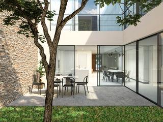 Barreres del Mundo Architects. Arquitectos e interioristas en Valencia. Einfamilienhaus Weiß