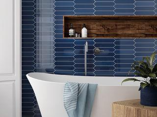 Equipe Ceramicas Baños modernos Azulejos Azul