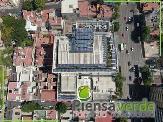 Piensa Verde México, Querétaro, Cancún 屋頂露臺 金屬 Metallic/Silver