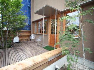 株式会社高野設計工房 Scandinavian style garden