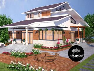 Mẫu thiết kế biệt thự vườn 1 tầng hiện đại tại Bình Phước NEOHouse