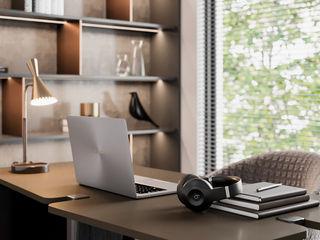 MENTAL ARC DESIGN Estudios y despachos de estilo moderno