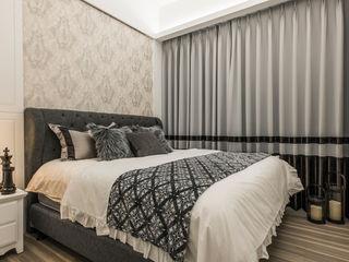2房打造高機能 精緻收納美式新古典小宅 你你空間設計 小臥室 塑木複合材料 Green