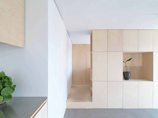 Julius Taminiau Architects Salas / recibidores Madera Acabado en madera