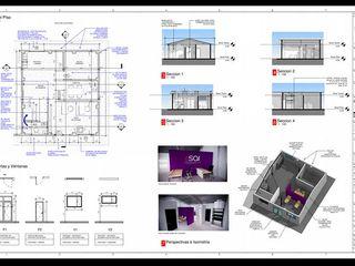 REMODELACION DE BODEGA PARA ADECUAR OFICINA EMPRESA SAI AVIANCA HOLDINGS PASTO EHG arquitectura y construcción Espacios comerciales