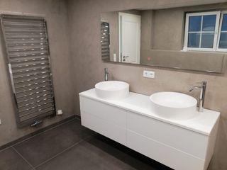 Keramostone Modern bathroom Tiles Beige